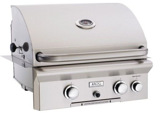 "AOG 24"" Built-in NG Grill - 432 sq. in. contemporary-outdoor-grills"