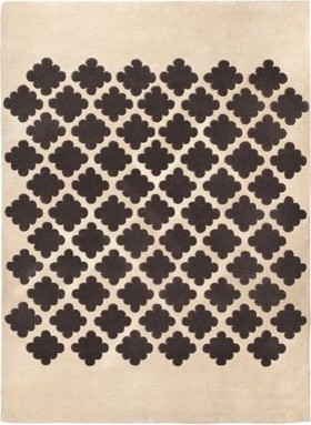 Target Home Medallion Rug, Cream modern-rugs