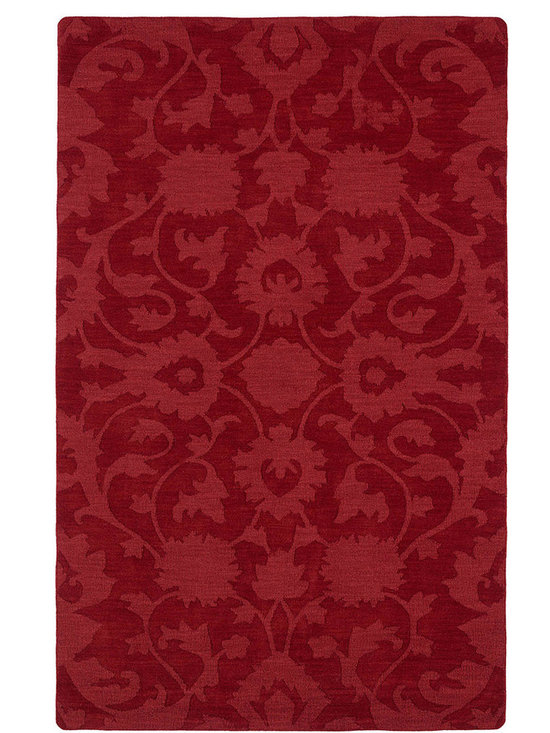 Kaleen - Imprints Classic Ipc02 Red Rug - Imprints Classic, where textiles meet fashion. Modern textile designs and todays hottest colors combine to meet the new evolution of this beautiful collection. Straight off the runway and into your home each rug is handmade in India of 100% Virgin Wool.