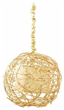 Hanging Nile Vine Sphere Lamp contemporary-pendant-lighting