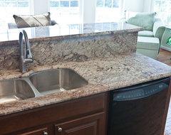 Typhoon Bordeaux Granite modern-kitchen-countertops