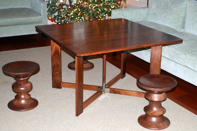 Chareau Folding Tea Table - Modern - Side Tables And End Tables ...