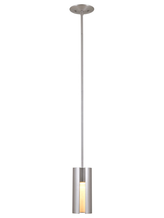 DVI Lighting - Roxanne Mini Pendant - Roxanne Mini Pendant features a Buffed Nickel or Chrome finish. One 50 watt, 120 volt MR16 type GU10 base halogen bulb is required, but not included. 3.75 inch width x 9.25 inch height x 51.25 inch length.