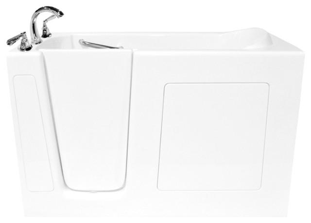 Walk-In Bathtub Soaker - Ariel (Right) modern-bathtubs