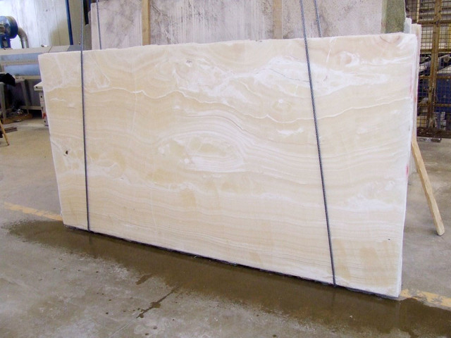 Onyx Countertops Prices : Quartzite slabs white onyx