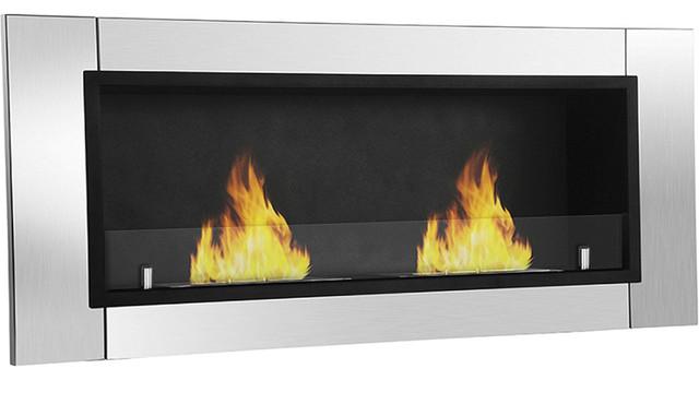 Moda Flame Valencia Wall Mounted Ethanol Fireplace
