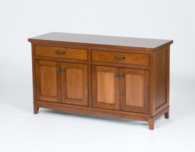 Custom Cherry Buffet - Modern - Buffets And Sideboards - minneapolis - by Country Cabinets