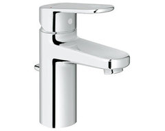 Grohe 33 170 EN2 Europlus Lavatory Centerset Faucet, Infinity Brushed Nickel contemporary-bathroom-faucets