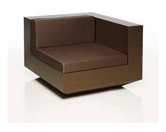 Vondom - Vondom | Vela Sofa Left Unit - Design by Ramon Esteve, 2011.