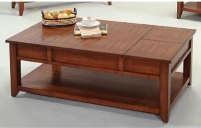 Progressive Furniture Coral Gables Rectangular Medium Ash Wood Castered Lift Top modern-coffee-tables