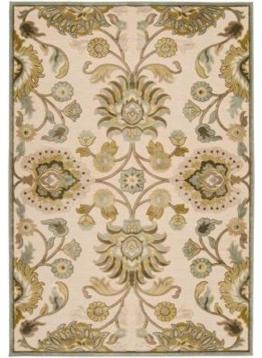 """Area Rug: Lauren Ivory Viscose and Chenille 7' 6"""" x 10' 6"""" contemporary-rugs"""