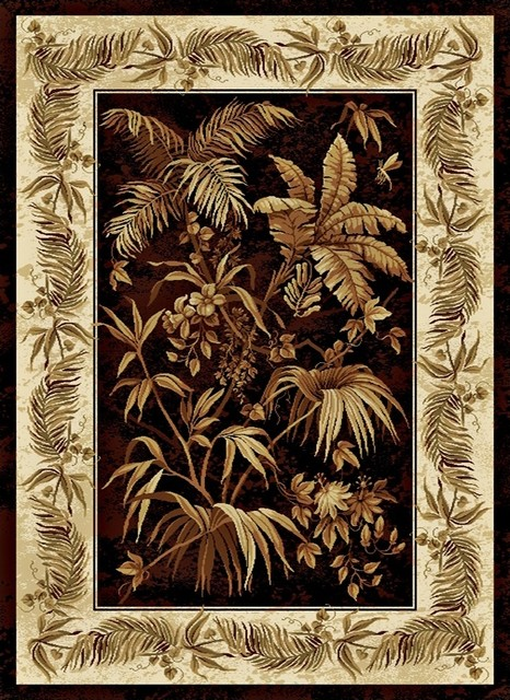 Tropical Antilla 7&#39; 10&quot;x10&#39; 6&quot; Area Rug tropical rugs