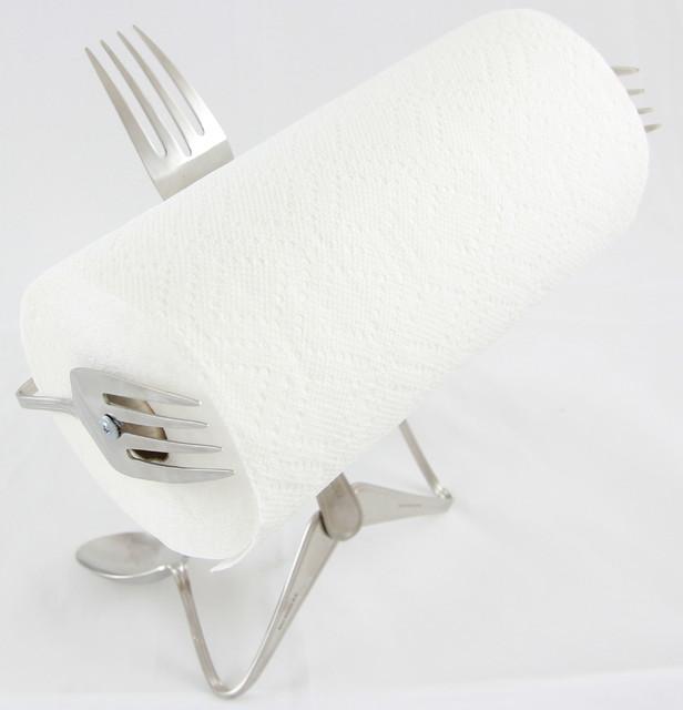 Paper Towel Holder Fork Contemporary Paper Towel