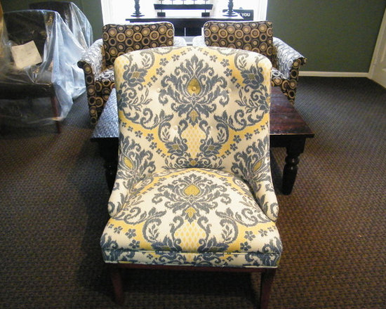 Pieces we have upholstered -