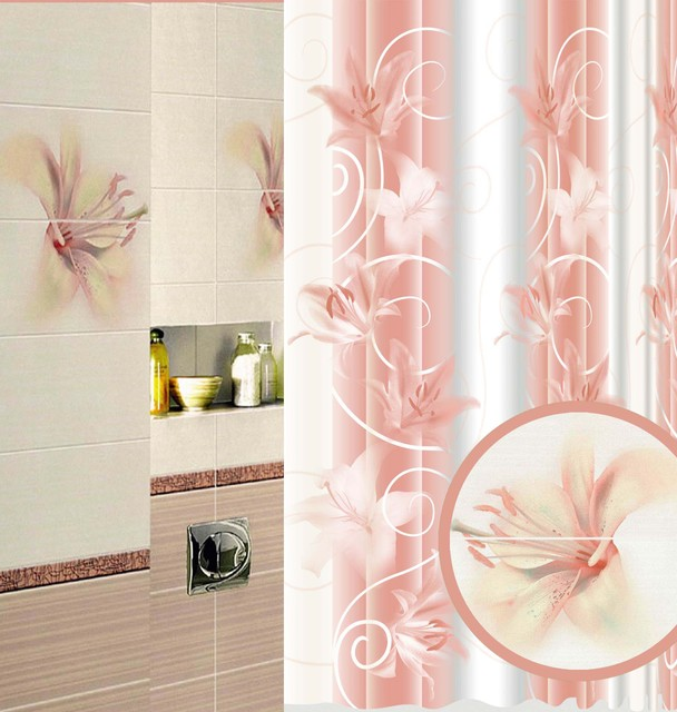 Bath Curtain modern shower curtains