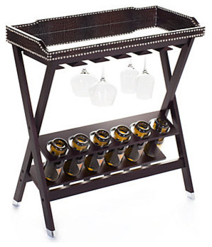 Lexington Mirrored Butler Tray modern-indoor-pub-and-bistro-tables