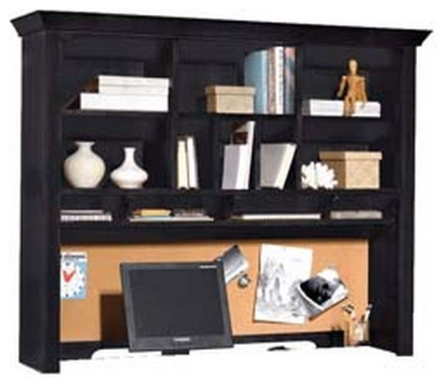 945 sterling pointe desk hutch black traditional desks and hutches