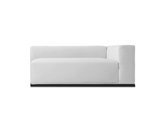 Pianca - Pianca | Insieme End Sectional Sofa - Design by R&S Pianca. Made in Italy by Pianca. Sit yourself down on the Insieme End Sectional Sofa. The sectional offers a comfortable seat that's designed for comfort and style while providing ease of compatibility for your living arrangement. With its clean lines, asymmetry, and block-like composition, the sectional provides an irregular style that's purely shape and color driven. Enhance your home with a unique look that stands apart.  Product Features: