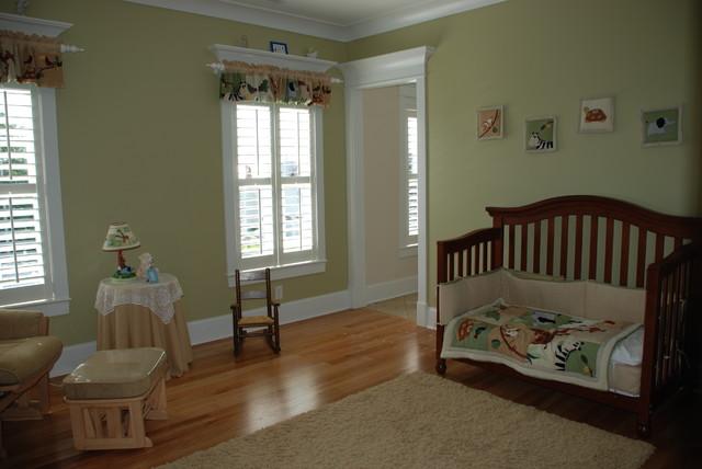 Green Nursery traditional-kids