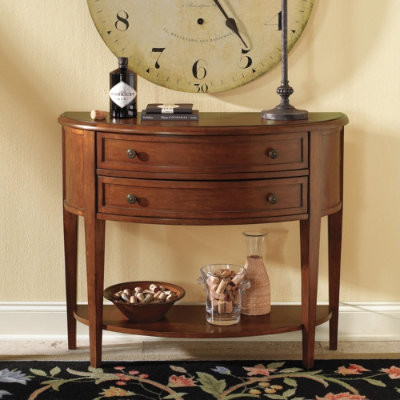 Newport Demilune Table traditional-console-tables