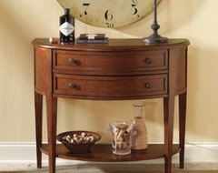 Newport Demilune Table traditional buffets and sideboards