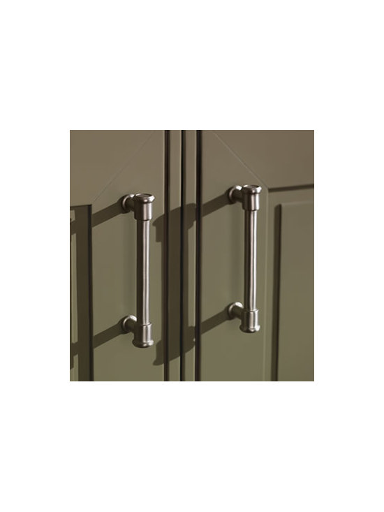 Baluster Pull - A casual pull that adds class to a room. Also available as a knob.