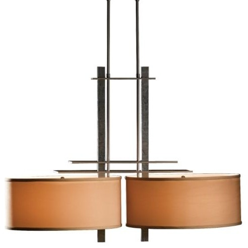 Ondrian Adjustable 2-Light Drum Pendant contemporary-pendant-lighting