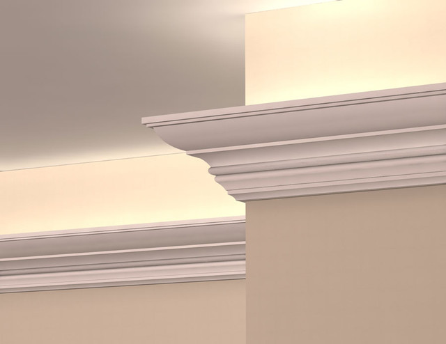 LC2006 - Interior Plaster Light Cove Crown Moulding - Molding And Trim ...