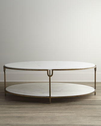 Marble Top Coffee Table Traditional Coffee Tables By Horchow