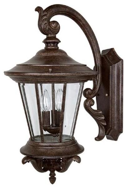 Capital Lighting 9753TS 3 Light Outdoor Wall Fixture