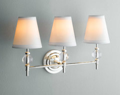 Wilshire Triple Sconce traditional bathroom lighting and vanity lighting