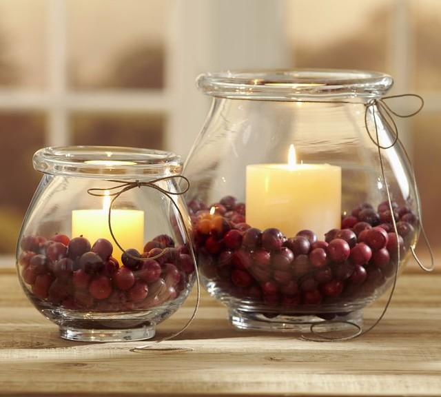 Cranberry Vase Filler traditional-home-decor