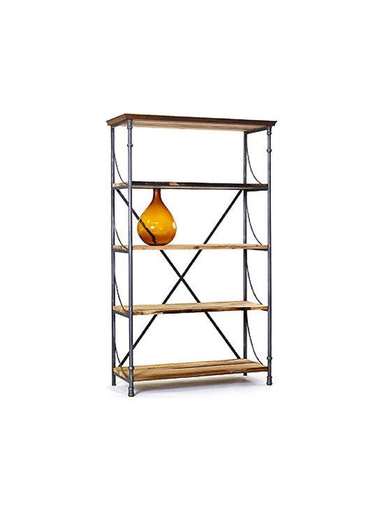 Reclaimed Wood Bookshelf -
