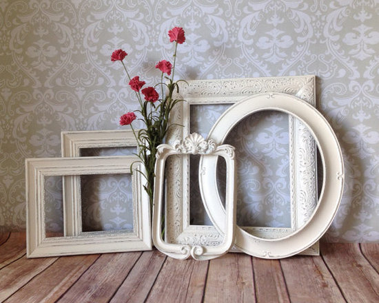 Vintage-Style Picture Frames by Vintage Events, Set of 5 -