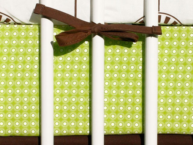 Olli & Lime George Crib Sheet Set modern crib accessories