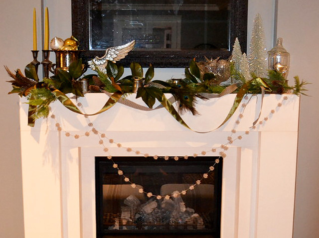 Houzzers Deck the Mantels