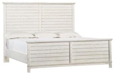 Stanley Coastal Living Resort Cape Comber Panel Low Profile Bed - King - Sail Cl modern-beds