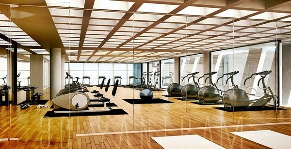 Gym Design New York Modern Rendering Other Metro