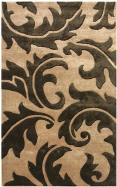 Aloha Tan Area Rug traditional-rugs