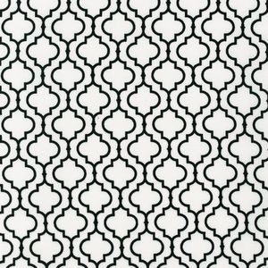 Tiles in White mediterranean fabric