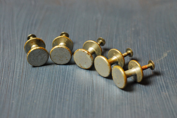 Brushed Metal Vintage Knobs by Be Happy Products ...