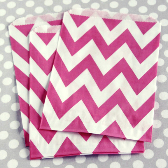 Pink Chevy Chic Treat Bags modern-lunch-boxes-and-totes