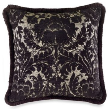 Croscill Raschel Square Toss Pillow contemporary-decorative-pillows