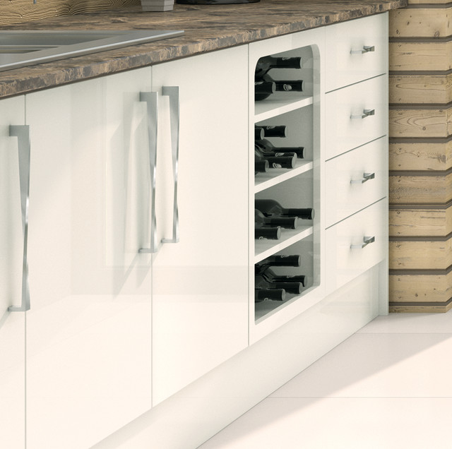 Face Frame Contemporary Kitchen Cabinetry Manchester UK By