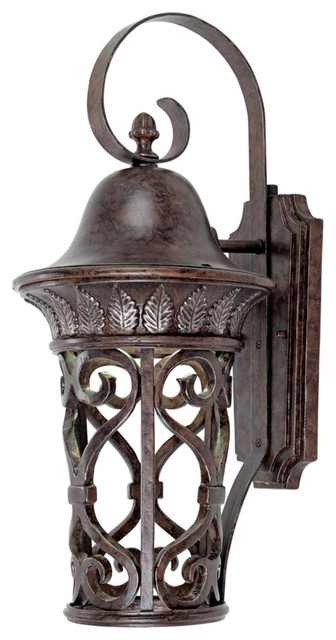 """Aficinado Collection ENERGY STAR 21"""" High Outdoor Wall Light traditional-outdoor-wall-lights-and-sconces"""