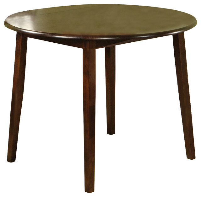 Steve silver branson double drop leaf 42 inch round dining for 42 dining table with leaf