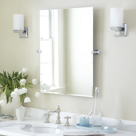 hayden tilting bath mirror traditional bathroom mirrors by