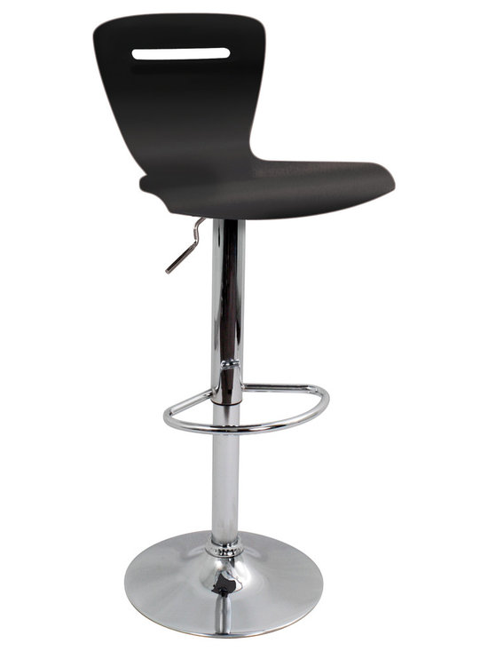 H2 Bar Stool - BLACK
