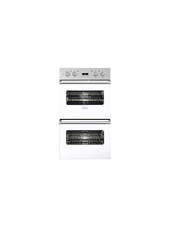 """Viking 30"""" Double Electric Wall Oven, White 