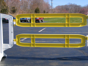 Xtendit Barricade - Yellow modern-home-fencing-and-gates